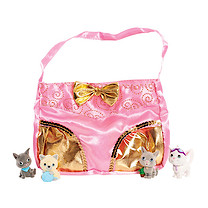 Kitty In My Pocket Cute Kitty Clutch Set (Styles Vary)