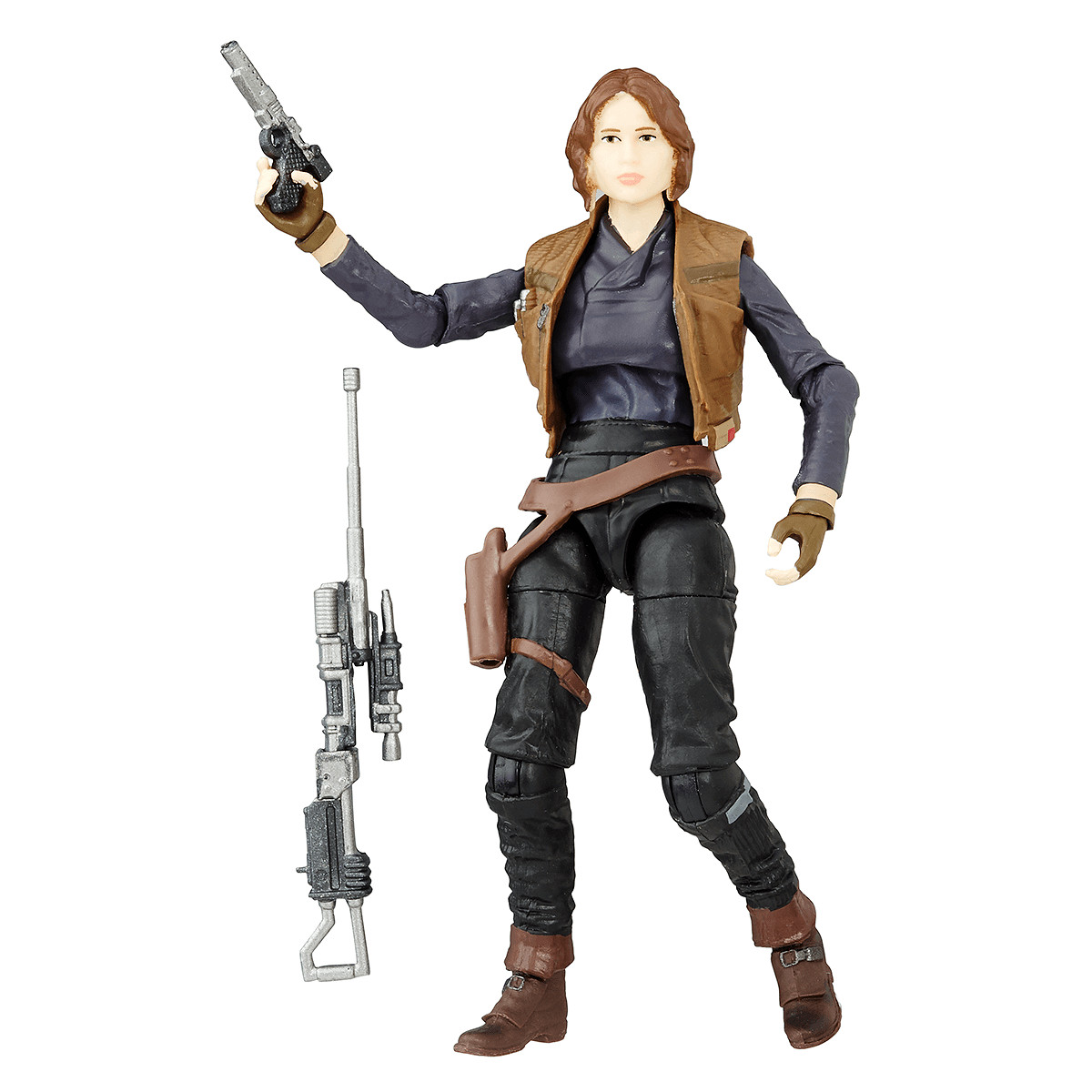 STAR WARS THE BLACK SERIES SERGEANT JYN ERSO ACTION FIGURE LOOSE !!
