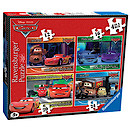 Ravensburger 4 in a Box Puzzles - Disney Cars