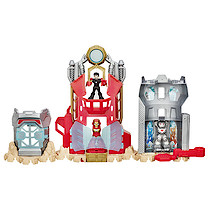 Playskool Heroes Iron Man Armour Up Fortress Playset