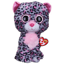 Ty Beanie Boo Buddy - Tasha the Leopard Soft Toy
