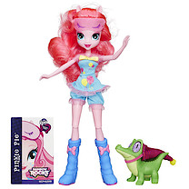 My Little Pony Equestria Girls Rainbow Rocks Doll Pinkie Pie and Gummy Snap Figure