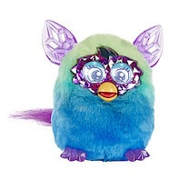 Furby Boom Crystal Series Green to Blue Ombre Furby