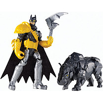 Batman Unlimited Figure -Batman and Axe Rhino