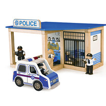 City Police Station Playset