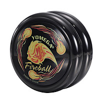 Yomega Fireball Black Yo-Yo (Player level)