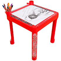 Disney Pixar Cars 3 Colouring Table