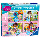Ravensburger Doc McStuffins 4 in a Box Animals Puzzle
