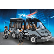 Playmobil - City Action Police Van with Lights and Sound 6043