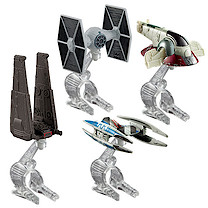 Hot Wheels Star Wars  Die-cast vehicle 4 Pack - Villain Starship