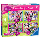 Ravensburger Disney Minnie Mouse 4 in a Box Puzzle