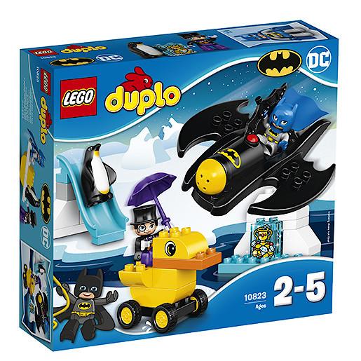 Lego Duplo Dc Comics Batmans Batwing Adventure 10823 The Entertainer