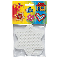 Hama Pegboard Bag - Small Star & Heart