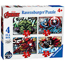 Ravensburger 4 in a Box Puzzles - Marvel Avengers