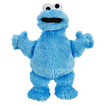 Playskool Sesame Street The Furchester Hotel Cuddle Cookie Monster