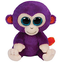 Ty Beanie Boos - Grapes the Monkey Soft Toy
