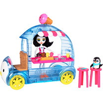 Enchantimals Wheel Frozen Treats Preena Penguin Doll & Playset