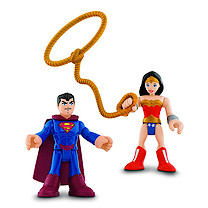 Fisher-Price Imaginext DC Super Friends - Superman & Wonder Woman