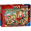 Ravensburger Santa's Final Preparations Limited Edition 1000 Pieces Puzzle
