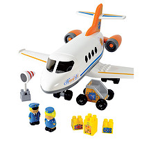 Abrick Happy Jet Plane Construction Set