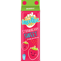 Skoodle Smoothie Carton Pencil Case - Strawberry Sweet