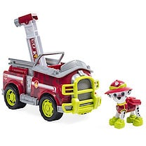 Paw Patrol Jungle Rescue Marshall's Jungle Truck Vehicle with Figure