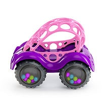 Bright Starts Oball Rattle & Roll Pink Buggy Vehicle
