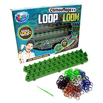 Jacks Adjustable Loop & Loom Camouflage Kit with 1000 Loom Bands