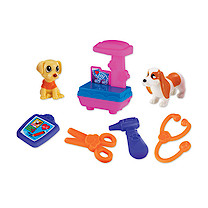 Pocket Pals Pet Clinic Playset with X-Ray