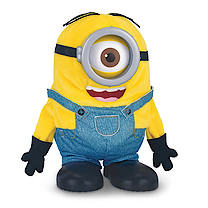 Minions Movie - Tumbling Minion Stuart Soft Toy