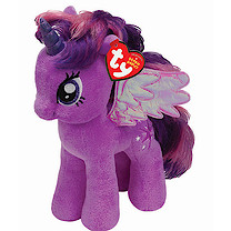 Ty My Little Pony 30cm Buddies Soft Toy - Twilight Sparkle