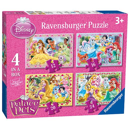 Ravensburger Disney Princess Palace Pets 4 In a Box Puzzles