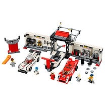 LEGO Speed Champions Porsche 919 Hybrid and 917K Pit Lane - 75876