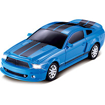 Power Racers 1:20 Blue Remote Control Car 27 mHZ