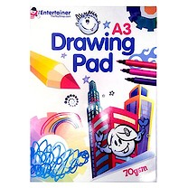 The Entertainer Jumbo Drawing Pad