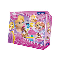 Disney Princess Rapunzel Paint and Style Styling Head