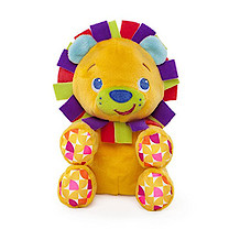 Bright Starts Snuggle-n-Shake Lion Soft Toy