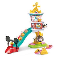 Disney Tsum Tsum Squishies Large Clock Tower Playset
