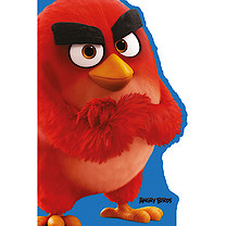 Angry Birds Character Birthday Card