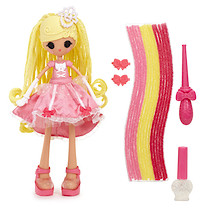 Lalaloopsy Girls Crazy Hair Doll Cinder Slippers