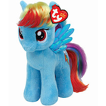 Ty My Little Pony Buddies Soft Toy - Rainbow Dash