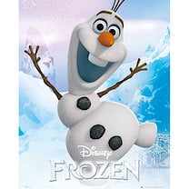 Disney Frozen Olaf Mini Poster