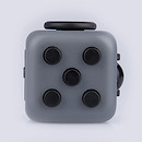 Fidget Cube Original Anti-Stress Toy - Grey and Black
