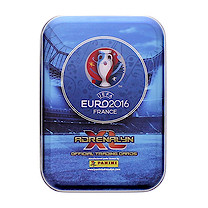 Panini UEFA Euro 2016 Adrenalyn XL Card Tin