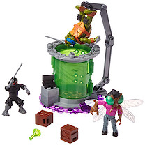 Mega Bloks Teenage Mutant Ninja Turtles Baxter's Mutation Chamber Building Set