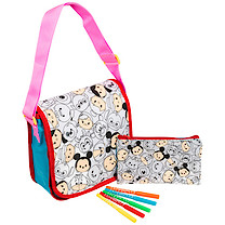 Disney Tsum Tsum Colour Your Own Bag Set