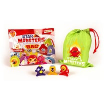 Star Monsters Series 1 3 Pack with Bag