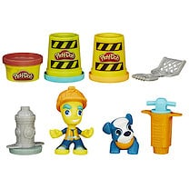 Play-Doh Town Roadworker & Pet Dog
