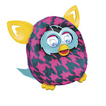 Furby Boom Interactive Soft Toy - Purple Houndstooth