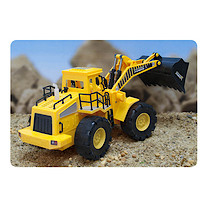 Friction Construction Truck with Light & Sound - Small Wheel Excavation